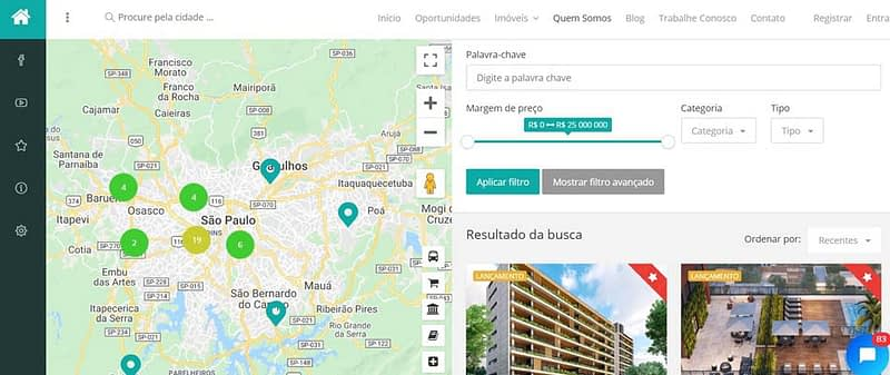 Agência de Marketing Digital Expert - Case SP Condomínios Design inteligente de site