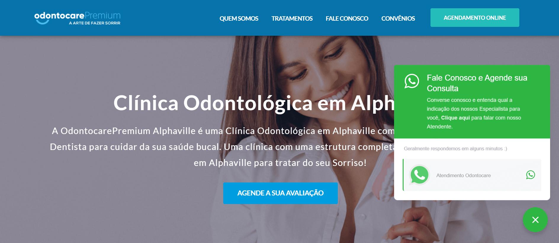 Agência Expert Digital Osasco - Criação de Site com Chat Online exemplo